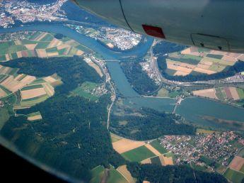 Aare-Rheinmündung
