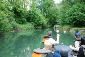 Kanal Dammsau Wehr