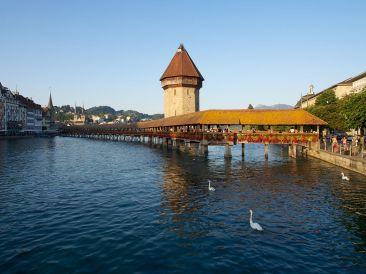 Reuss Kapellbrücke Luzern