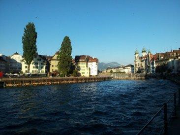 Reuss Nadelwehr Luzern