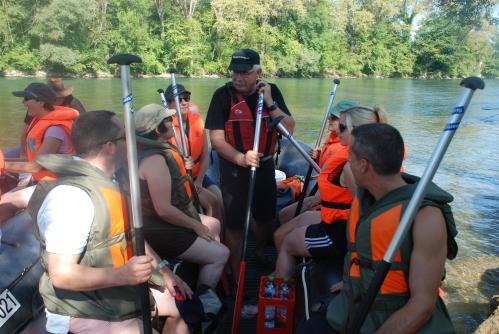 Anweisungen im Boot