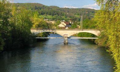 Eisenbahnbrücke Turgi